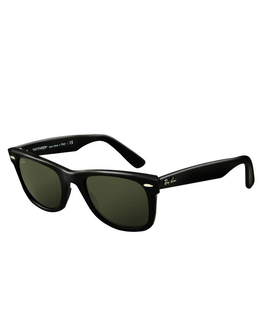 ray ban wayfarer black sunglasses designer accessories sale ray ban sunglasses secretsales. Black Bedroom Furniture Sets. Home Design Ideas