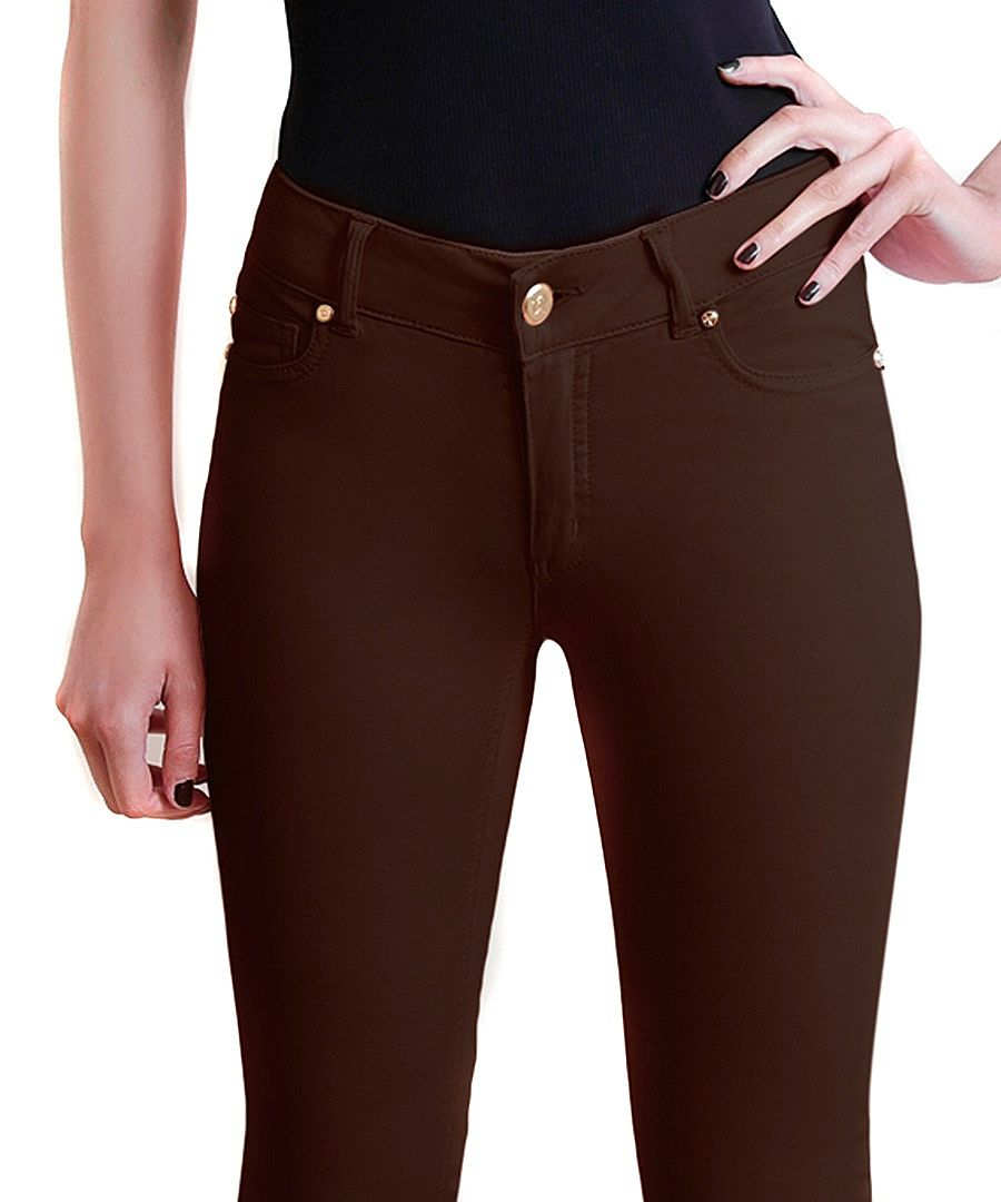 Dark brown jeans for women – Global fashion jeans models