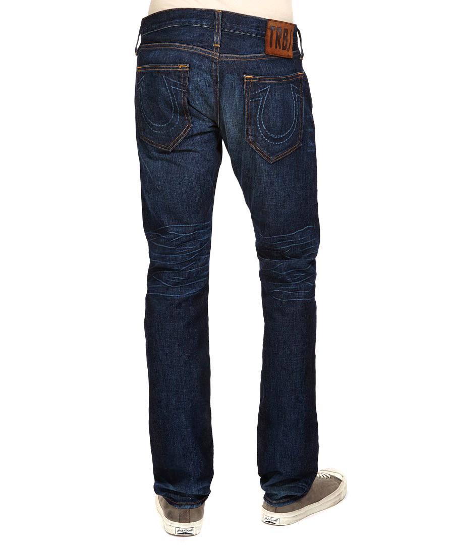 true religion rocco 1971 ransom dark blue jeans designer trousers jeans sale true religion. Black Bedroom Furniture Sets. Home Design Ideas