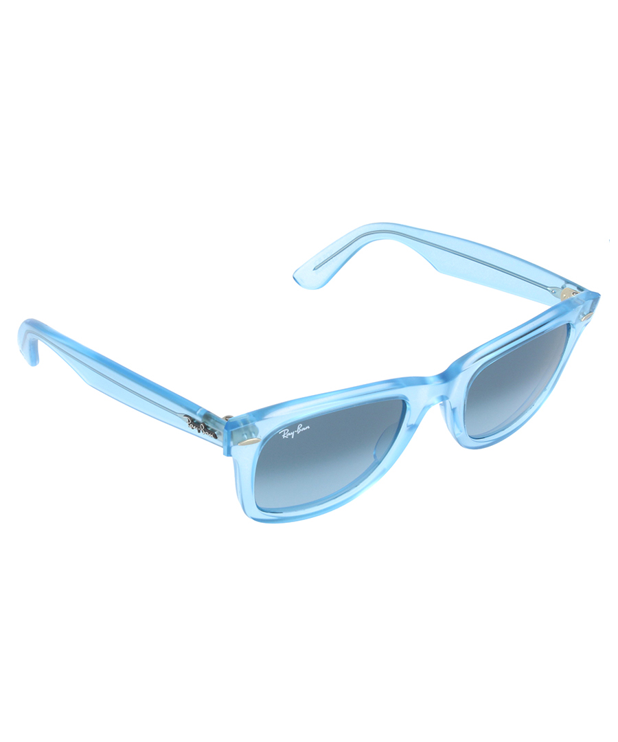 Ray-Ban Wayfarer clear blue sunglasses, Designer ...