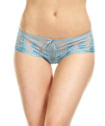Alondra blue hipster shorts