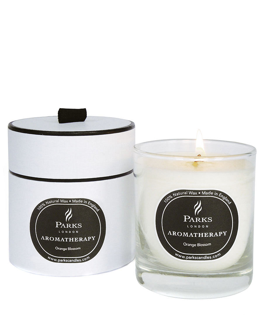 orange blossom aromatherapy candle sale parks london. Black Bedroom Furniture Sets. Home Design Ideas