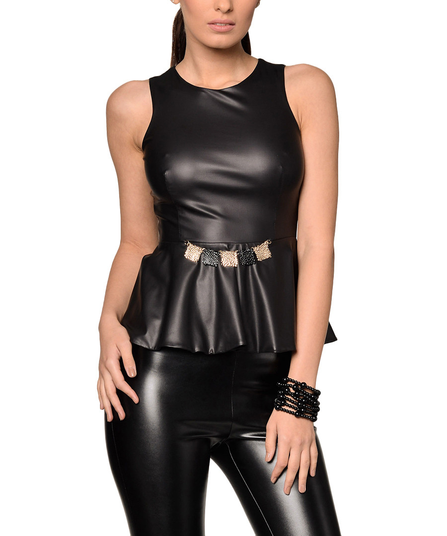 Get the best deals on black leather peplum top and save up to 70% off at Poshmark now! Whatever you're shopping for, we've got it.
