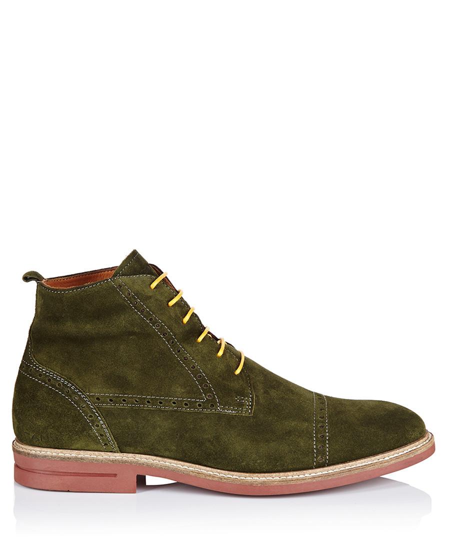 gant s berson green suede boots designer footwear