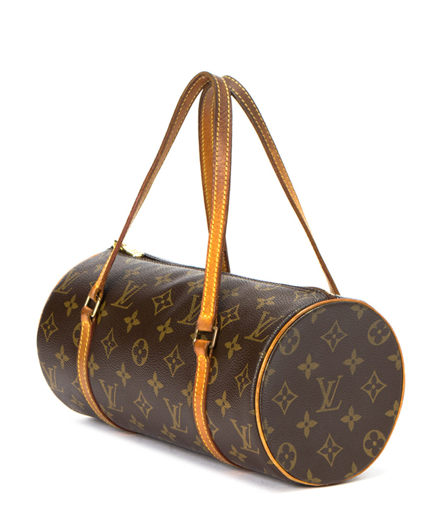 louis vuitton papillon brown monogram barrel bag designer bags sale outlet secretsales. Black Bedroom Furniture Sets. Home Design Ideas