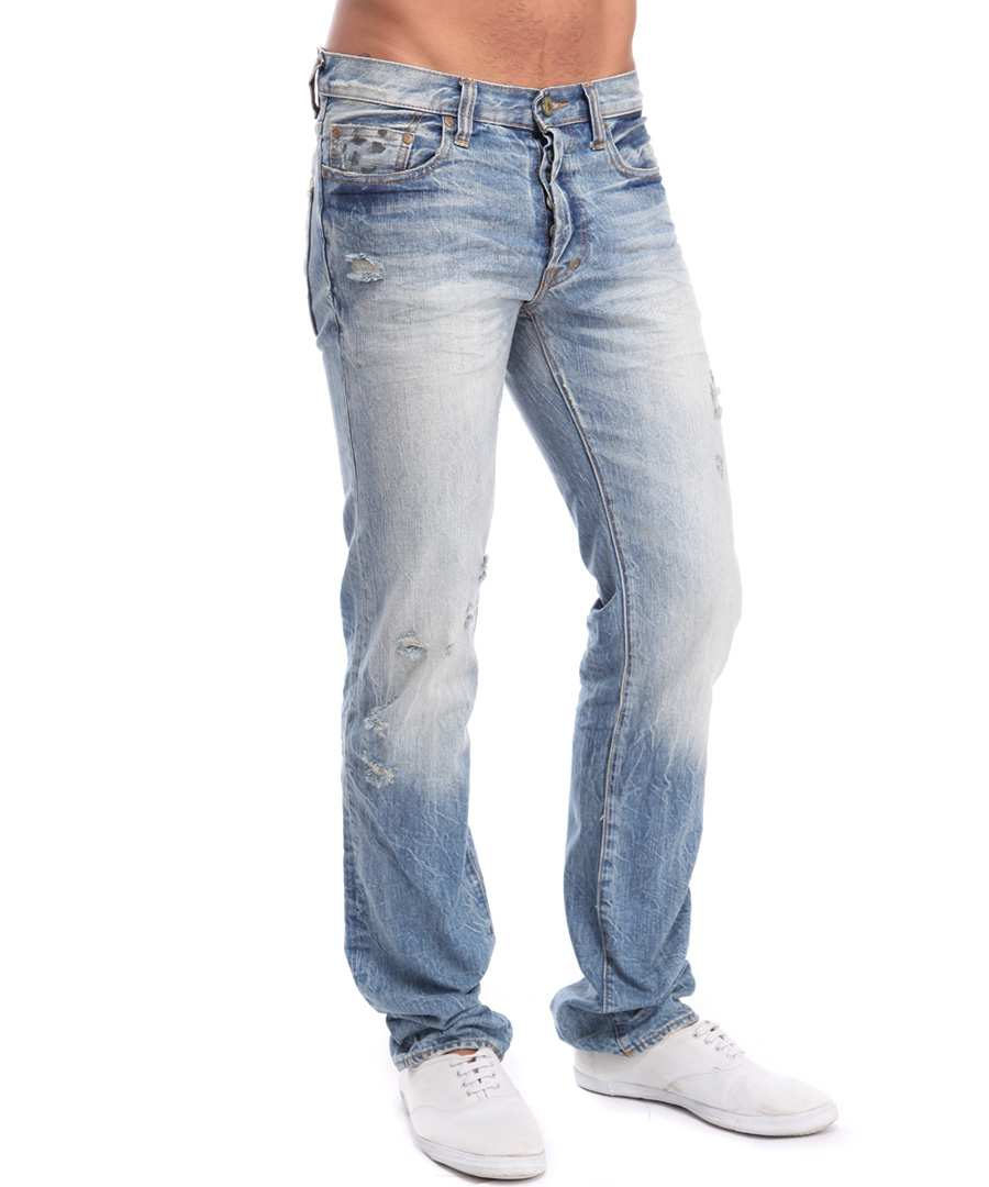 Bring style and comfort to your wardrobe with these Faded Glory Men's Original Fit Jeans. They are made of percent cotton and machine washable for easy care. These Faded Glory Men's Jeans have five pockets, three in the front and two in the back.