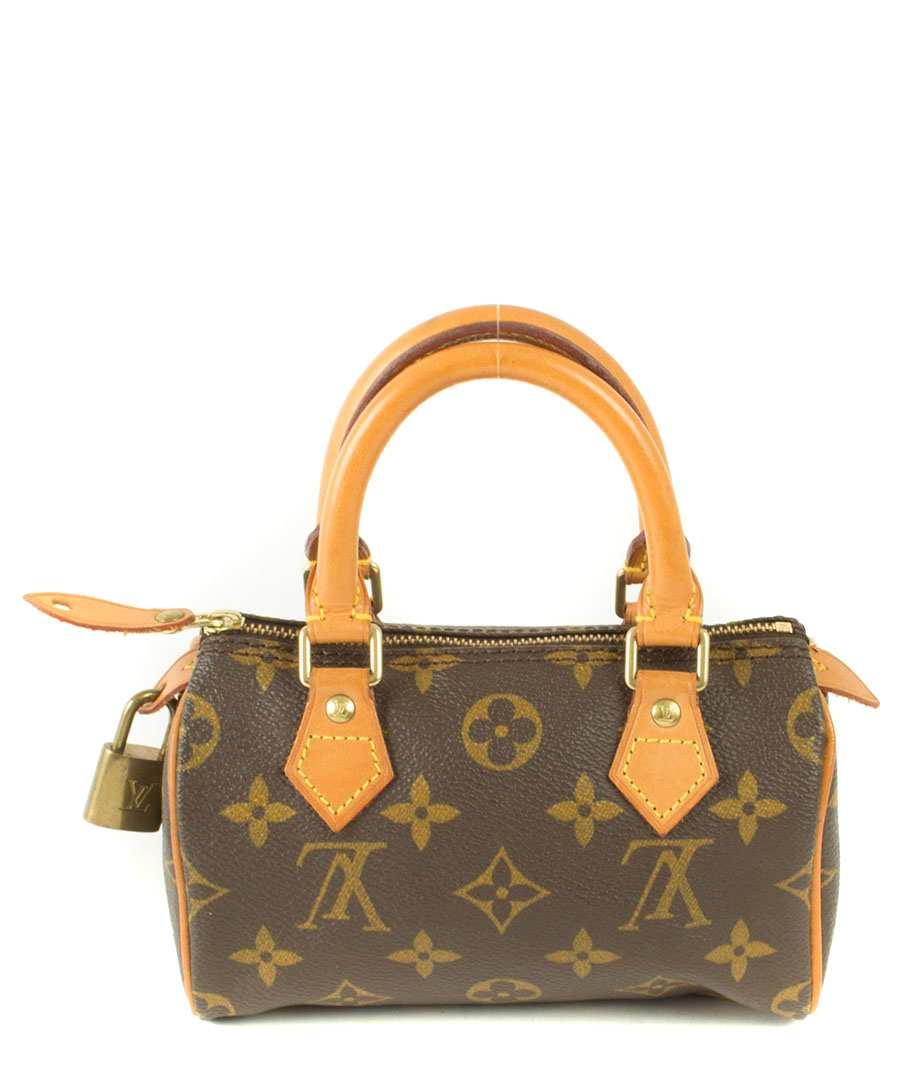 louis vuitton women 39 s leather mini speedy bag designer misc sale louis vuitton vintage. Black Bedroom Furniture Sets. Home Design Ideas