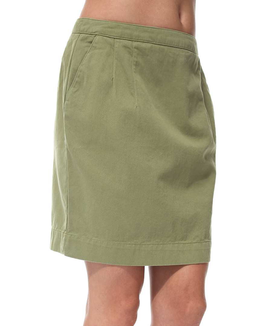 Khaki Twill Skirt 101