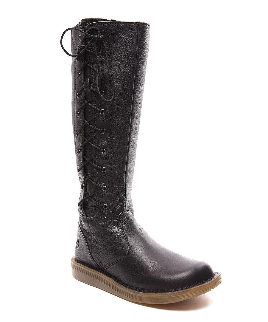 dr martens women 39 s martine black leather boots designer. Black Bedroom Furniture Sets. Home Design Ideas