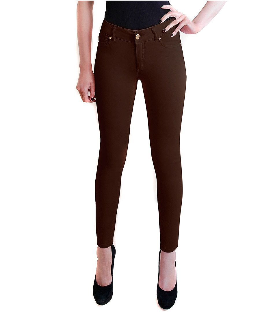 Dark Brown Jeans For Women