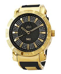 562 gold-plated diamond watch