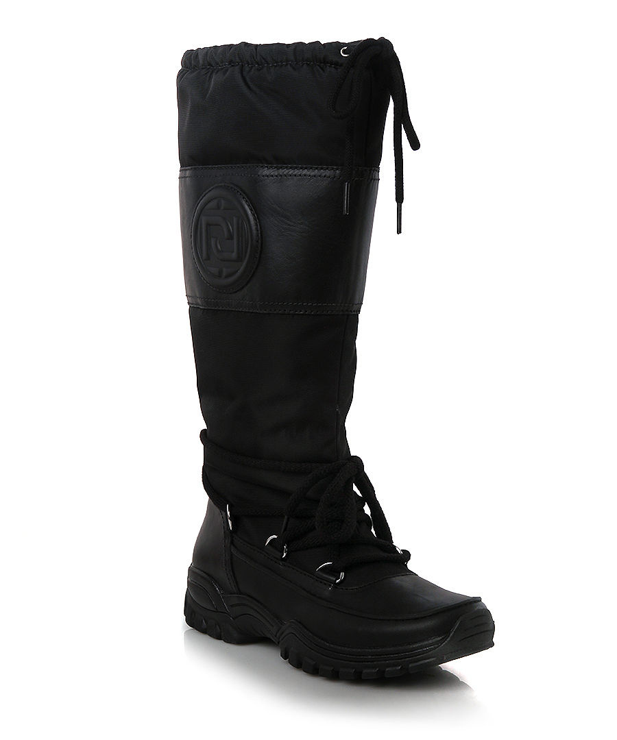 Rockport Finna black snow boots, Designer Footwear Sale