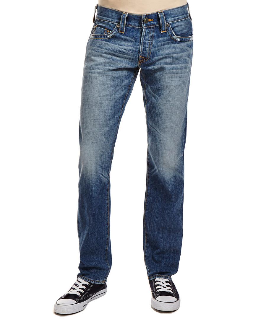 true religion men 39 s rocco pony express jeans designer. Black Bedroom Furniture Sets. Home Design Ideas