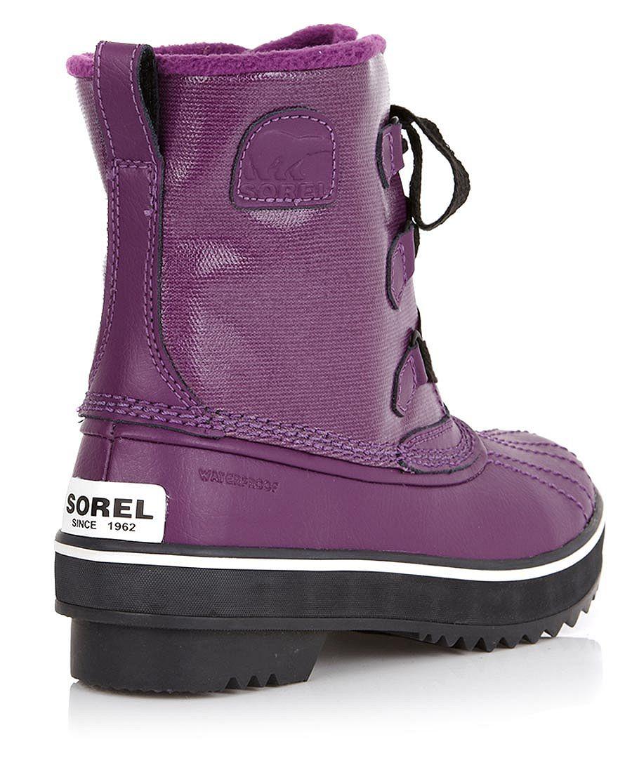 sorel children s purple leather boots designer footwear