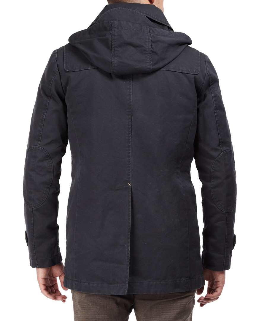 selected homme green park duffle coat in pirate designer. Black Bedroom Furniture Sets. Home Design Ideas