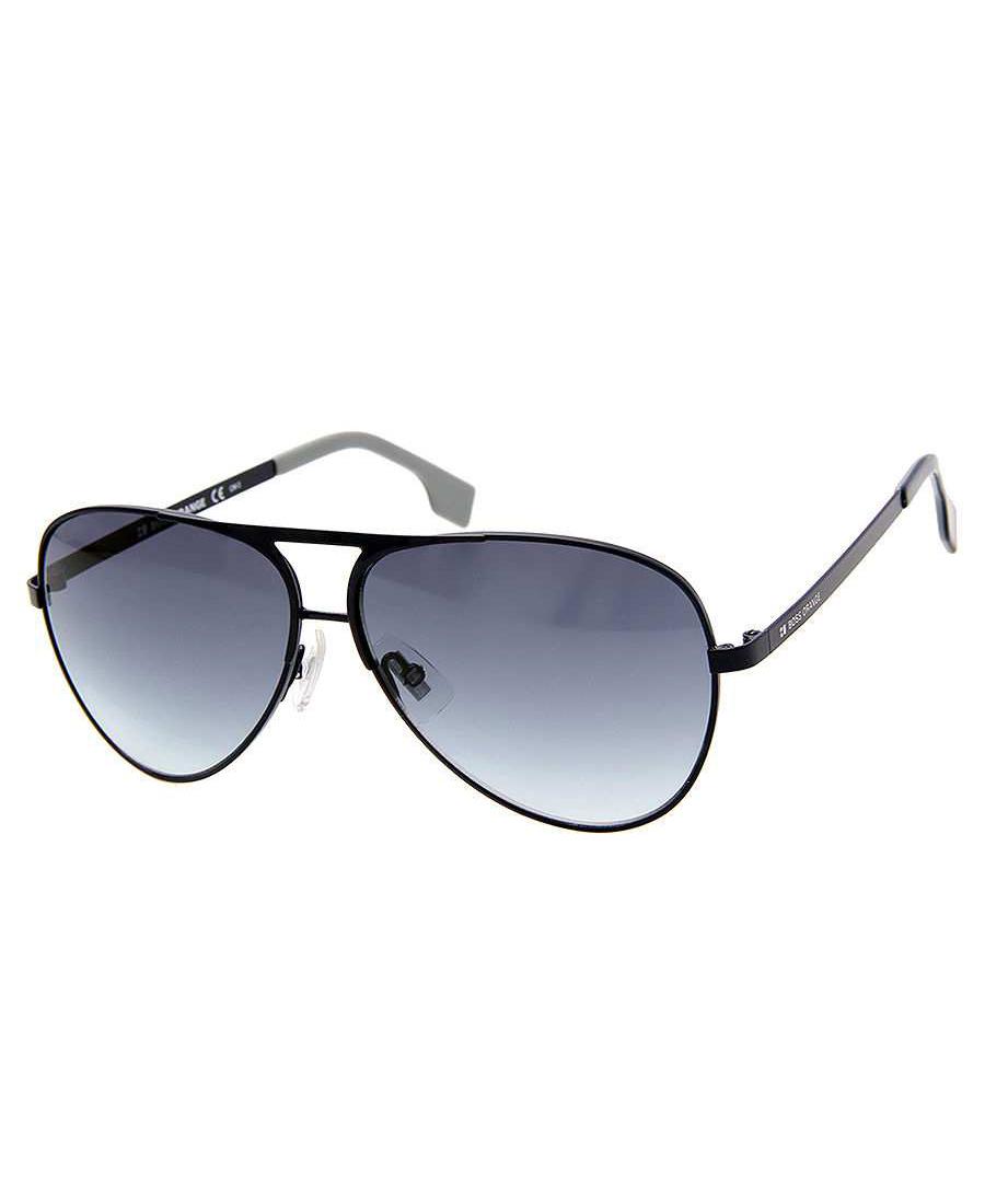 Black metal aviator sunglasses Sale - Hugo Boss Orange