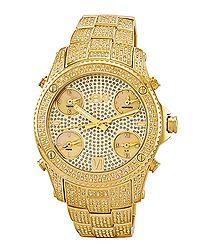 Jet-Setter diamond accent watch