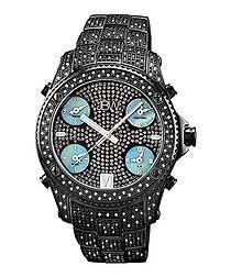 Jet-Setter black diamond watch