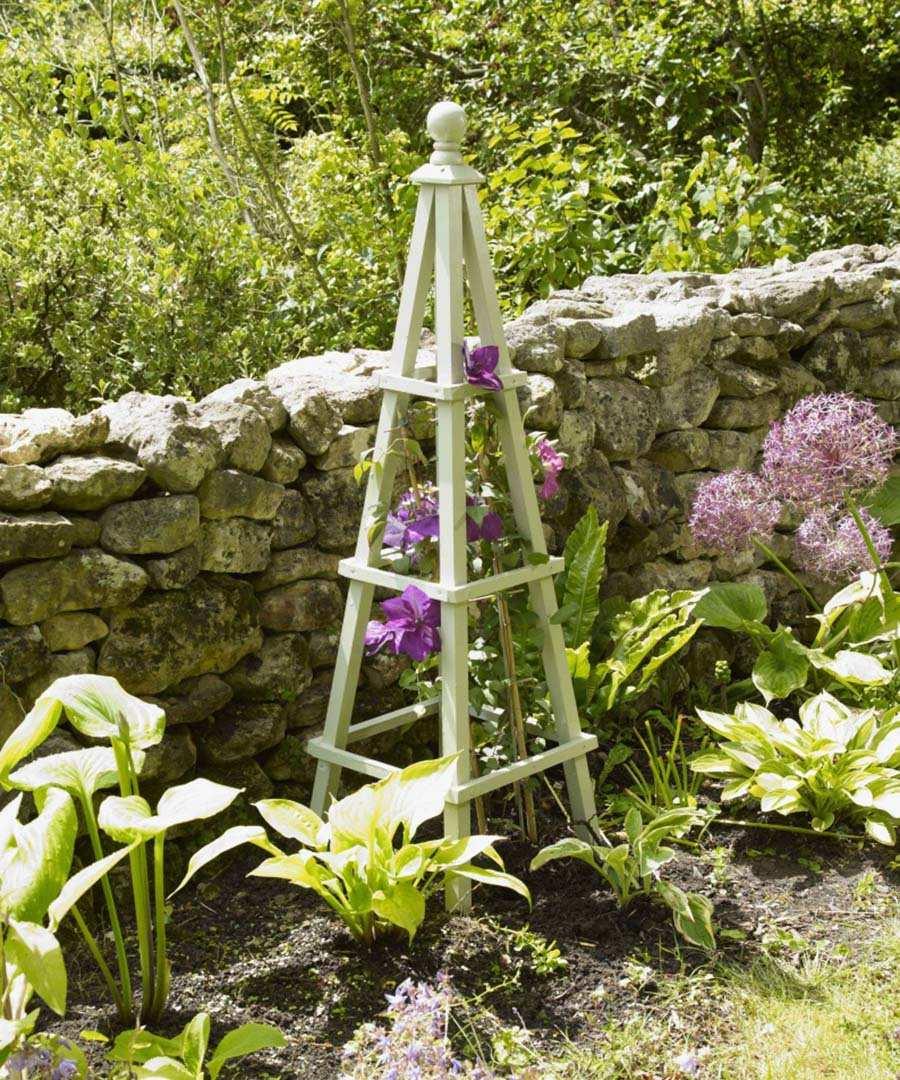 Wooden Garden Obelisks Sale