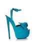 Aqua suede platform heels Sale - Giuseppe Zanotti Sale