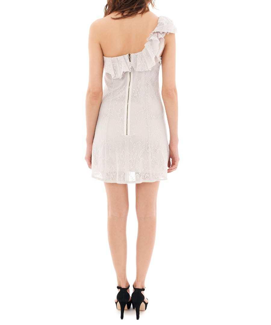 the kooples cream asymmetric lace dress designer dresses. Black Bedroom Furniture Sets. Home Design Ideas
