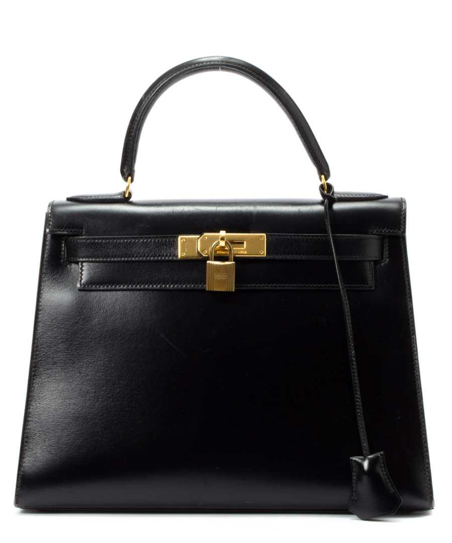 28cm Kelly leather handbag Sale - Hermés Vintage