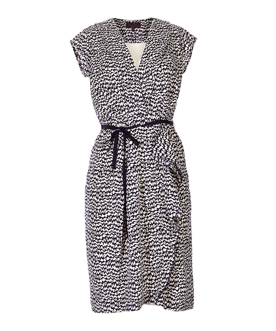 Lightening Stripe damsel wrap dress Sale - Great Plains