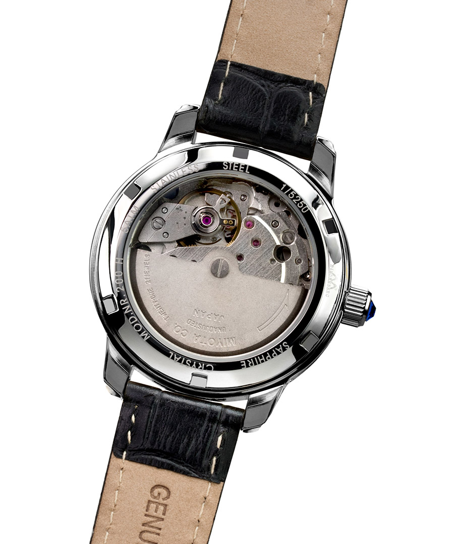Hindenberg duchess black diamond bezel watch designer jewellery sale hindenberg watches for Black bezel watches