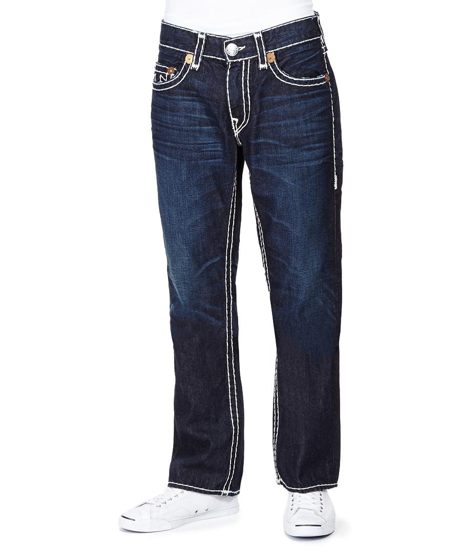 true religion bobby super dark blue ransom jeans designer. Black Bedroom Furniture Sets. Home Design Ideas