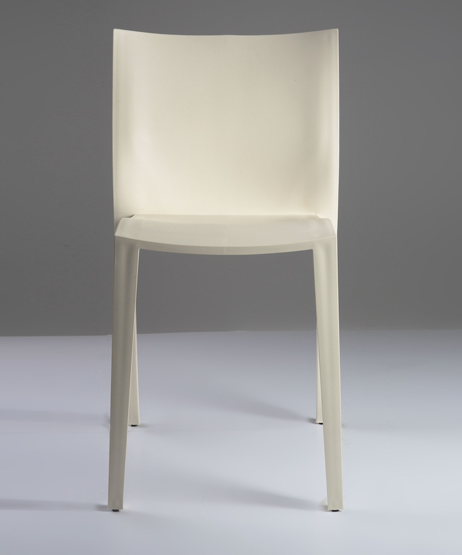 xo by starck slick ivory chair designer homeware sale xo by starck seating secretsales. Black Bedroom Furniture Sets. Home Design Ideas