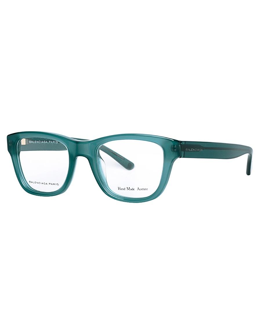 Emerald Green Eyeglass Frames : Balenciaga Frosted emerald green frames, Designer ...