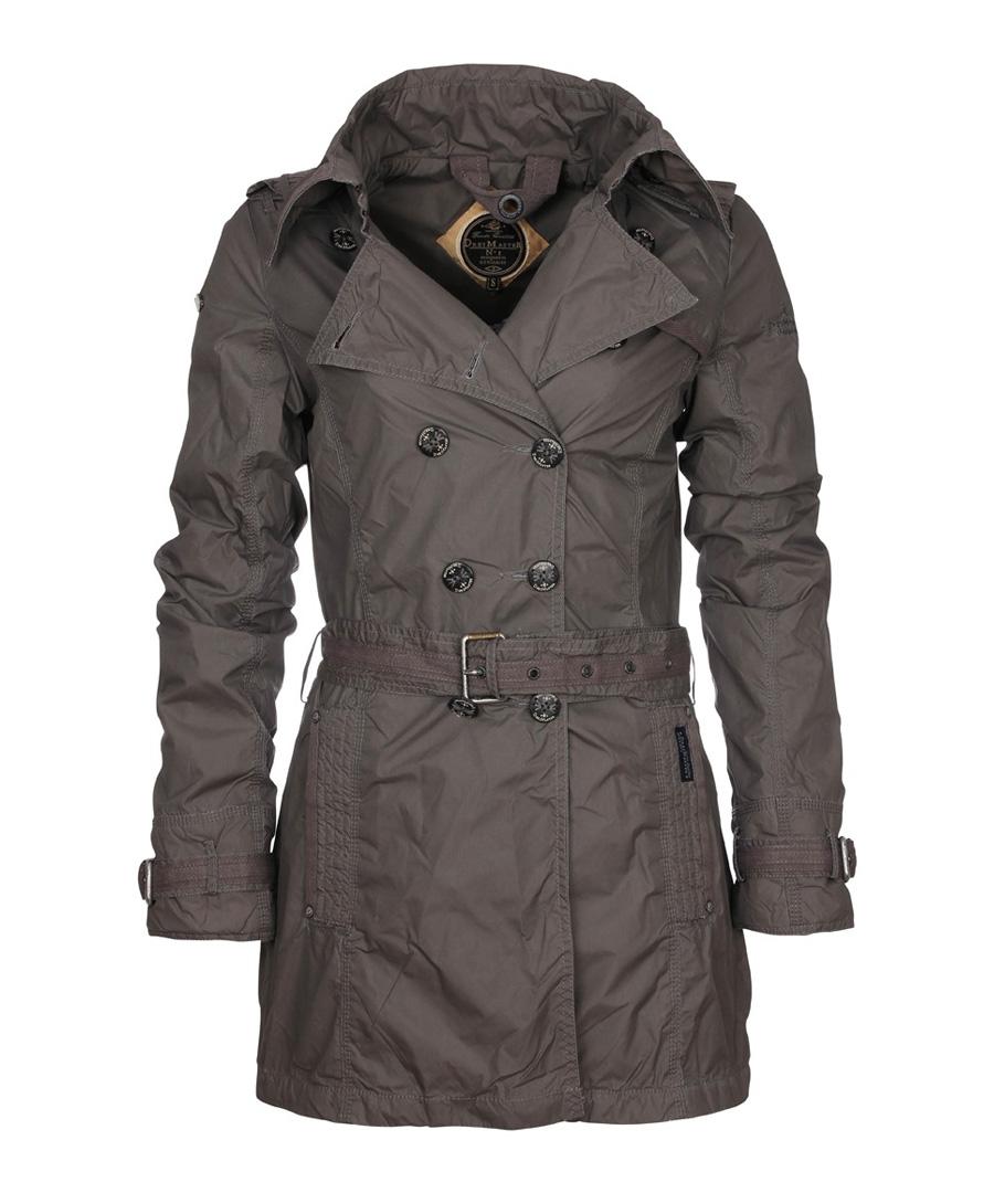 Women's grey double-breasted jacket Sale - DreiMaster
