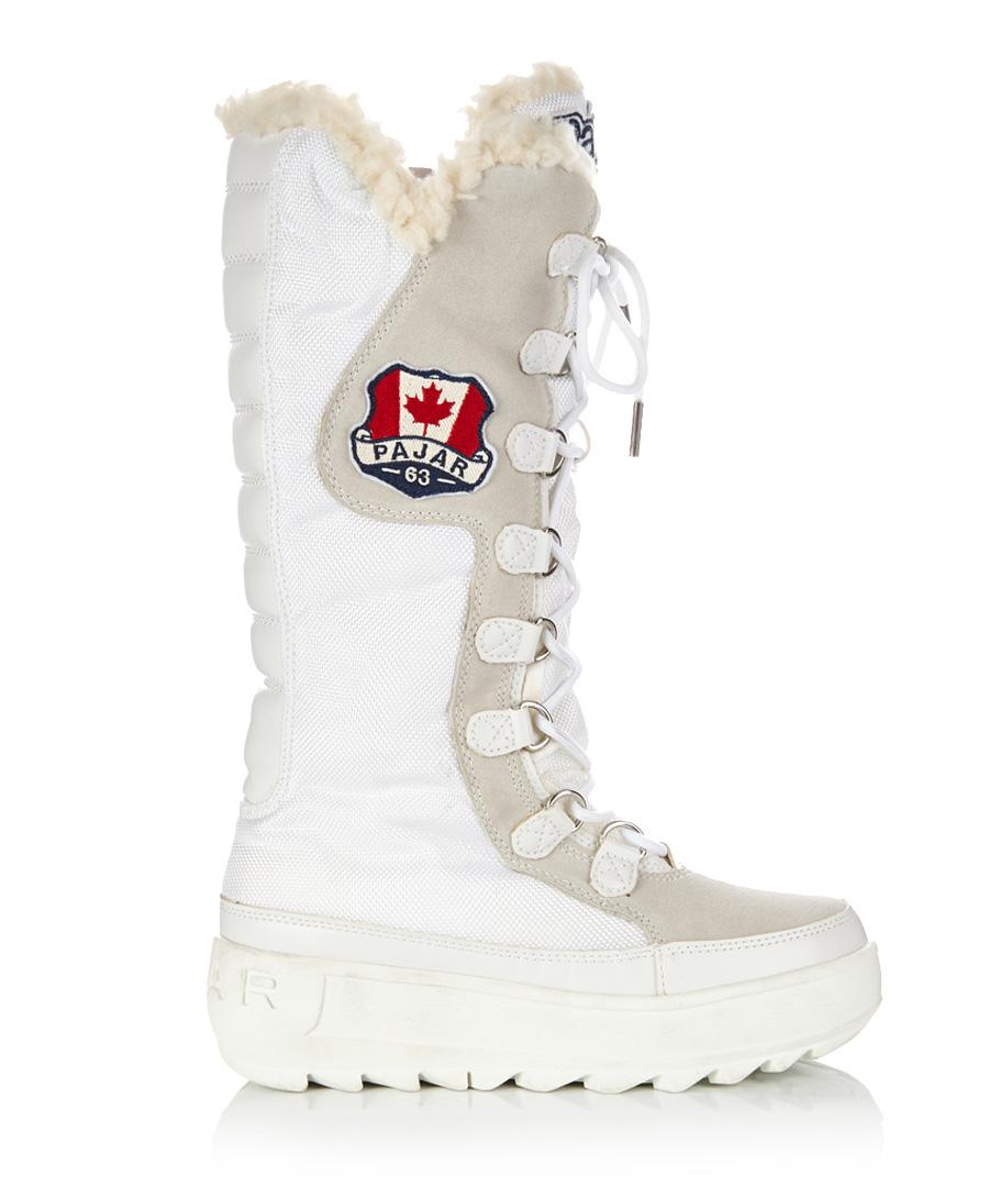 Beautiful Adidas KATTEGAT Stella McCartney Womens Winter Shoes White Snow Boots | EBay