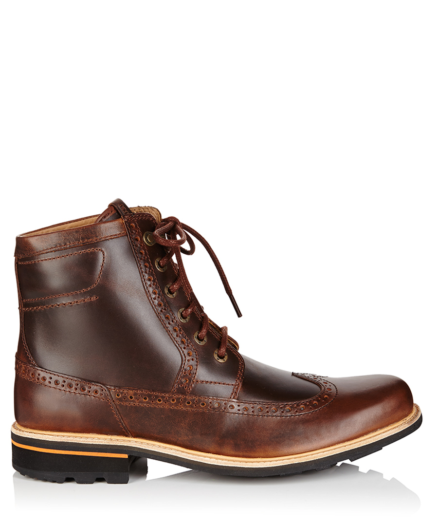 Brogues Boots Sale Brown Brogue Boots Sale