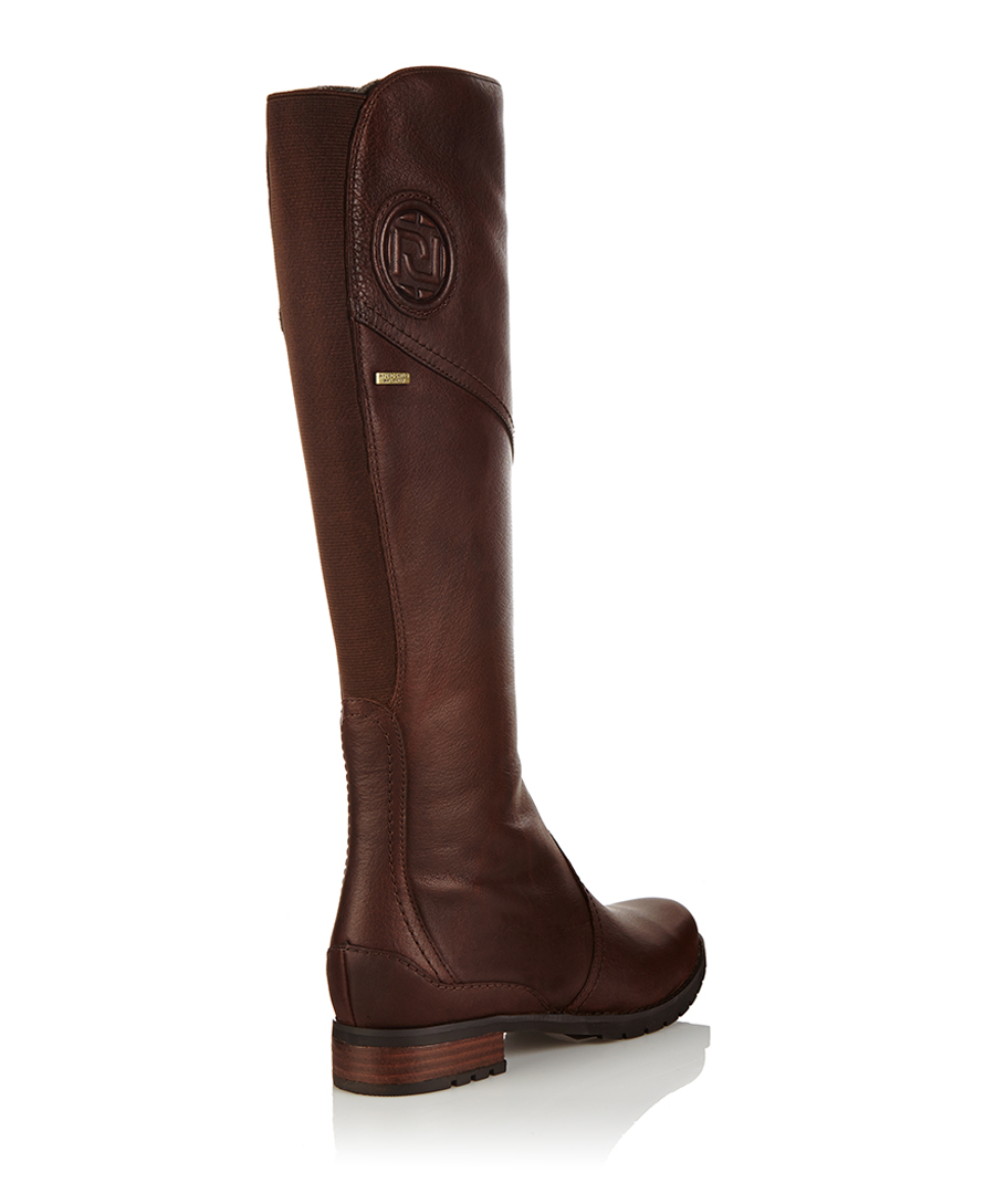 Original Franco Sarto Women39s Christie Riding Boot Ox Brown Leather C0031L1201