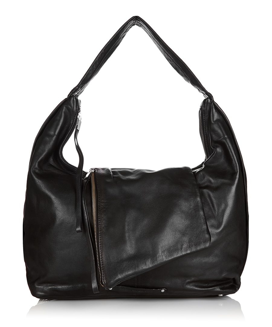 Black Leather Shoulder Bag Sale – Shoulder Travel Bag