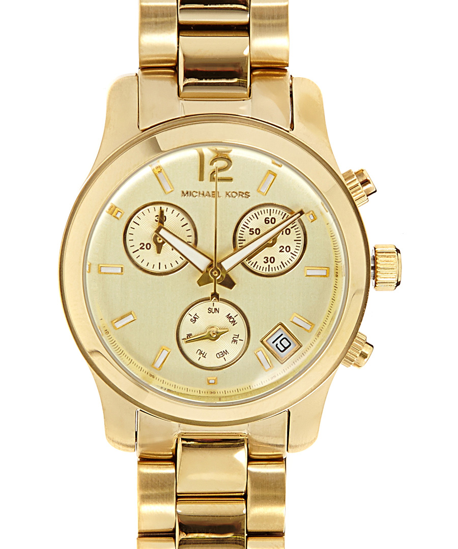 Michael Kors watches are known for their bold, large faces - however, the designer does not forget to add a feminine touch. From blinged out gold to subtle, slim timepieces, the label truly has something for everyone. With a Michael Kors watch, you'll always check the time in style.