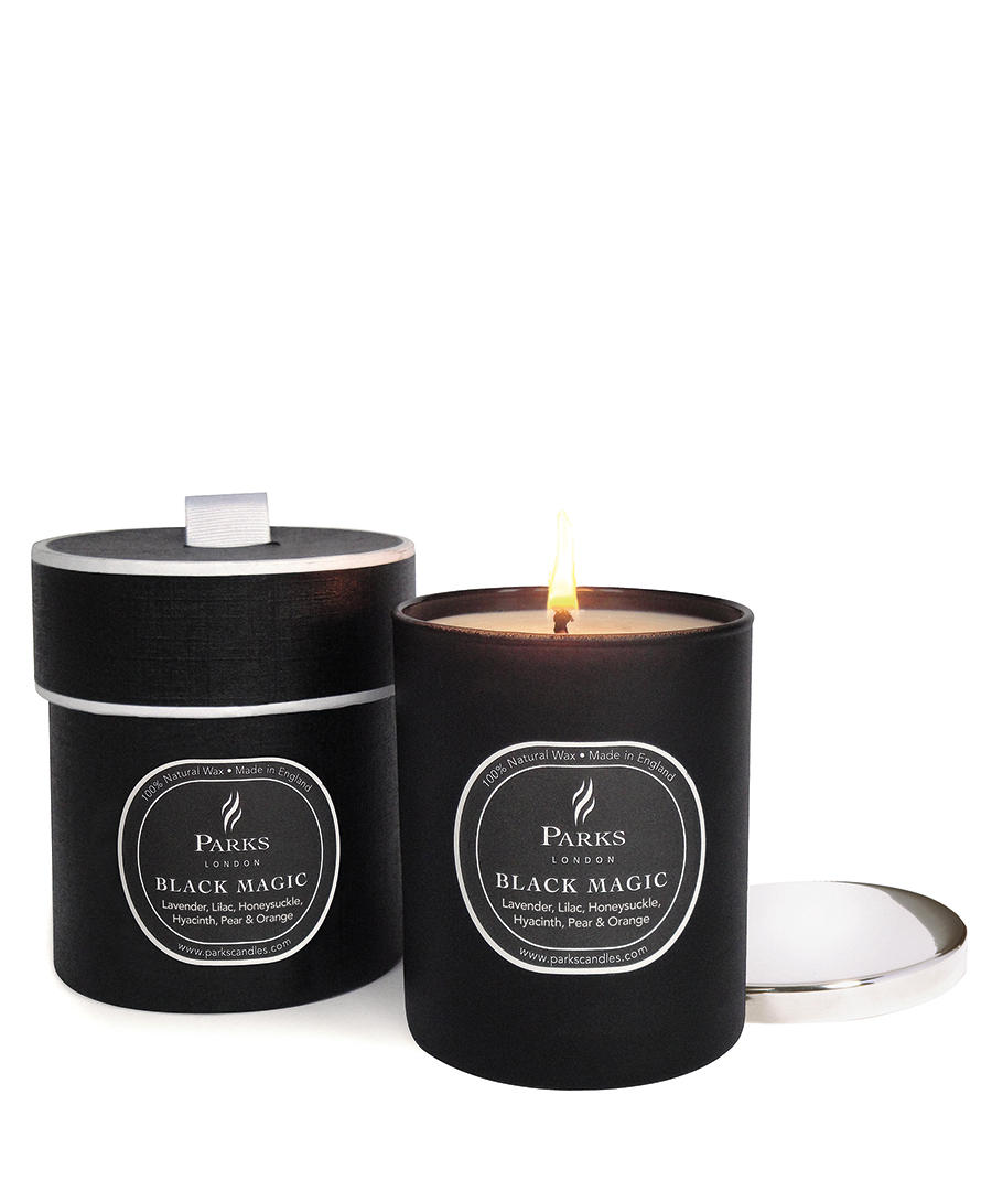 parks london lavender lilac black magic candle designer homeware sale parks london secretsales. Black Bedroom Furniture Sets. Home Design Ideas