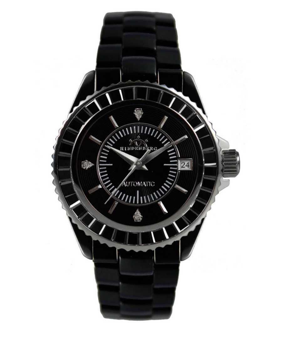 Home Hindenberg Watches Galaxy black diamond watch