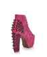 Lita spike pink suede boots Sale - Jeffrey Campbell Sale