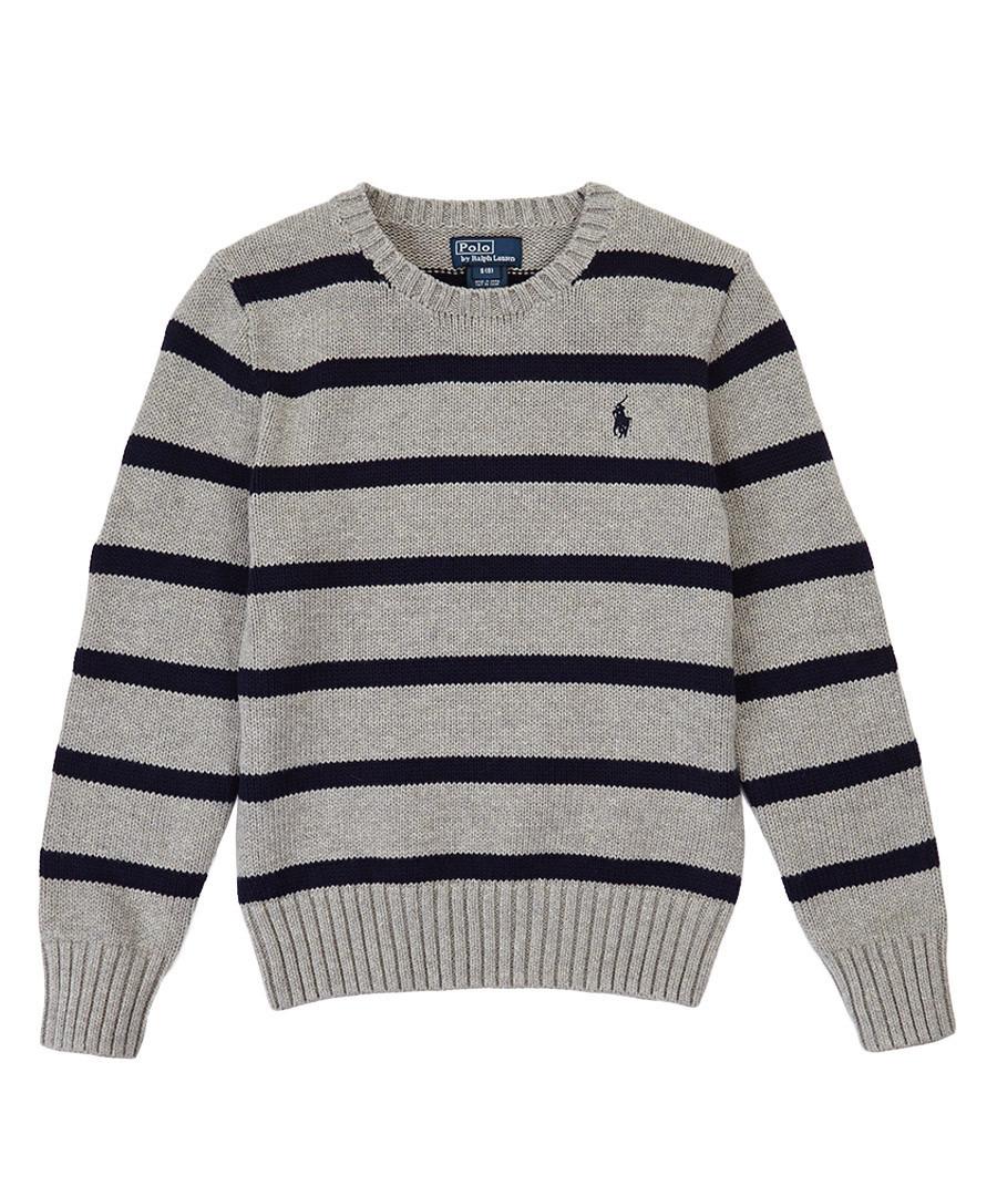 Boy's 6-14yrs cotton & wool jumper Sale - Ralph Lauren