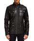 Black leather field jacket Sale - Barney's Originals Sale
