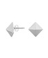 Silver-plated pyramid stud earrings Sale - Jules Smith Sale