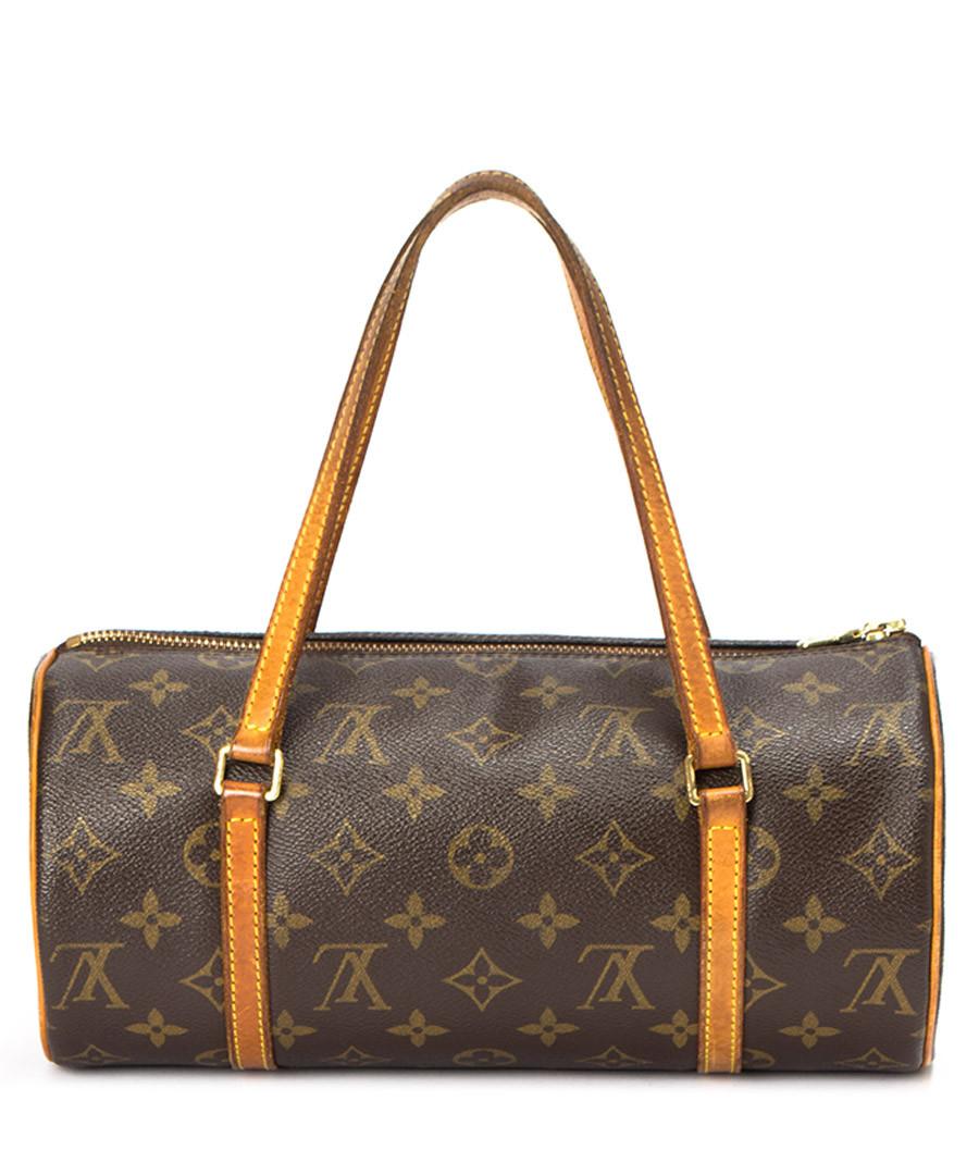 louis vuitton papillon brown monogram barrel bag designer bags sale outlet secretsales. Black Bedroom Furniture Sets. Home Design Ideas