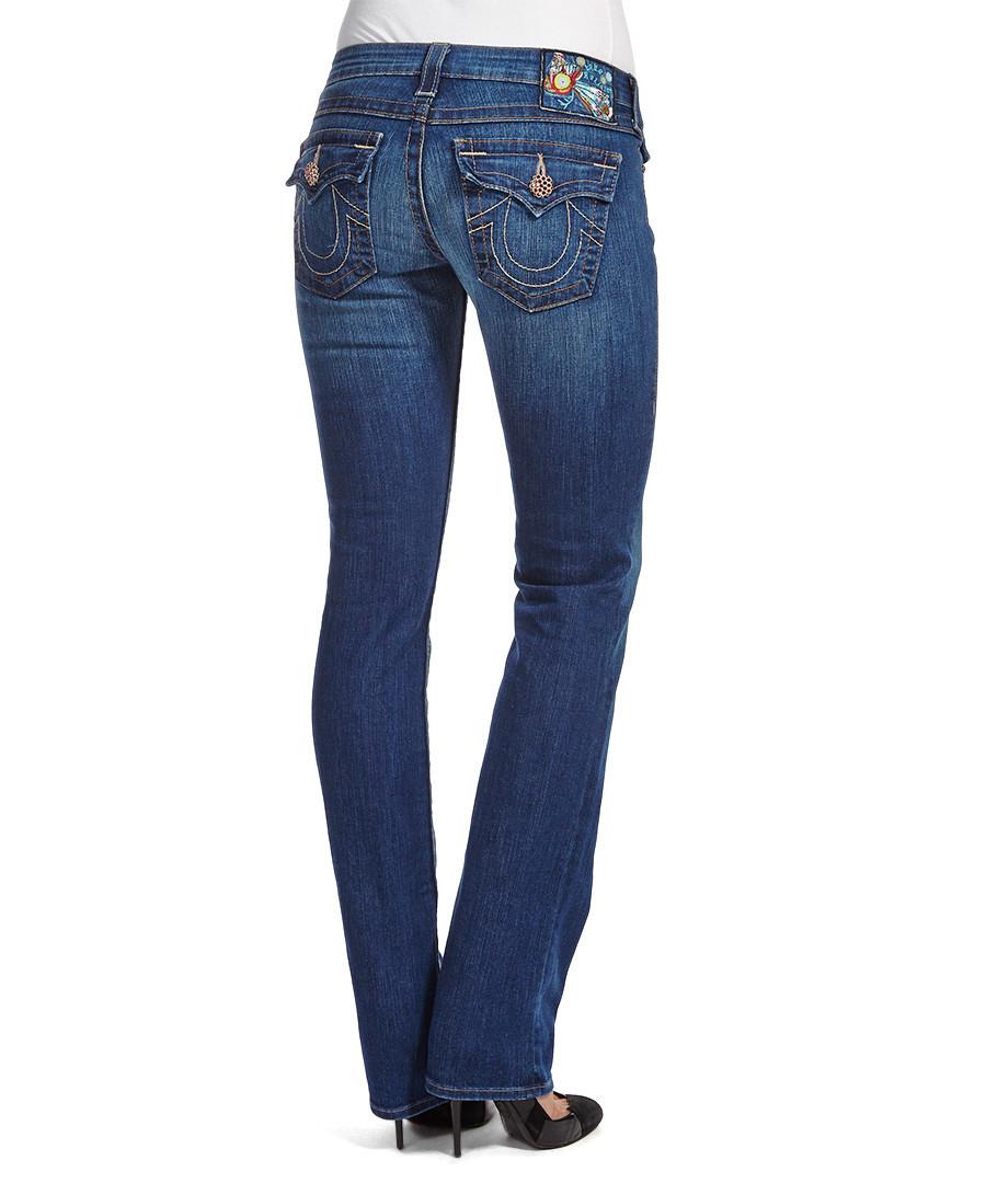true religion billy del mar straight leg jeans designer. Black Bedroom Furniture Sets. Home Design Ideas