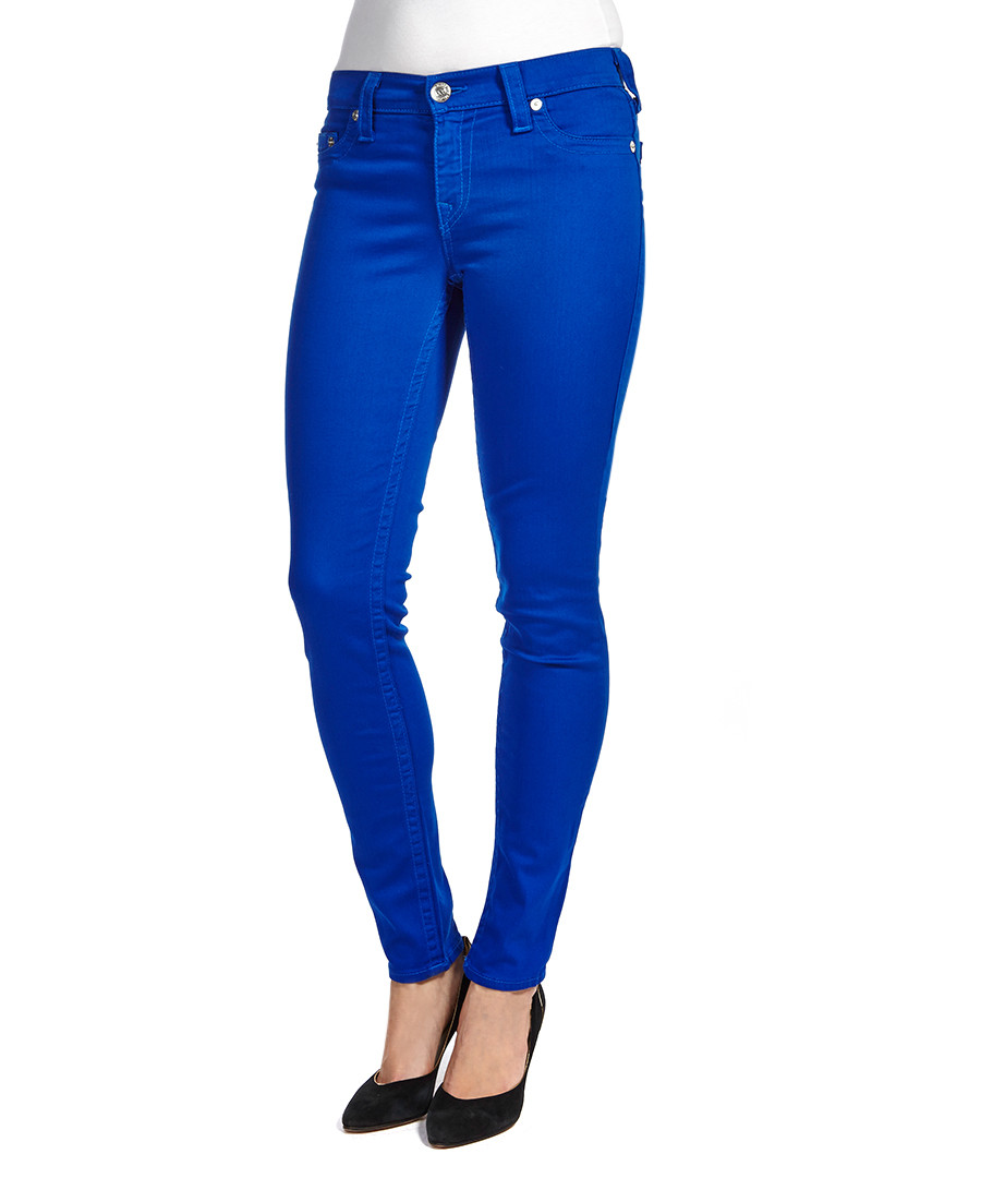 Model Royal Blue Palazzo Pants  Women