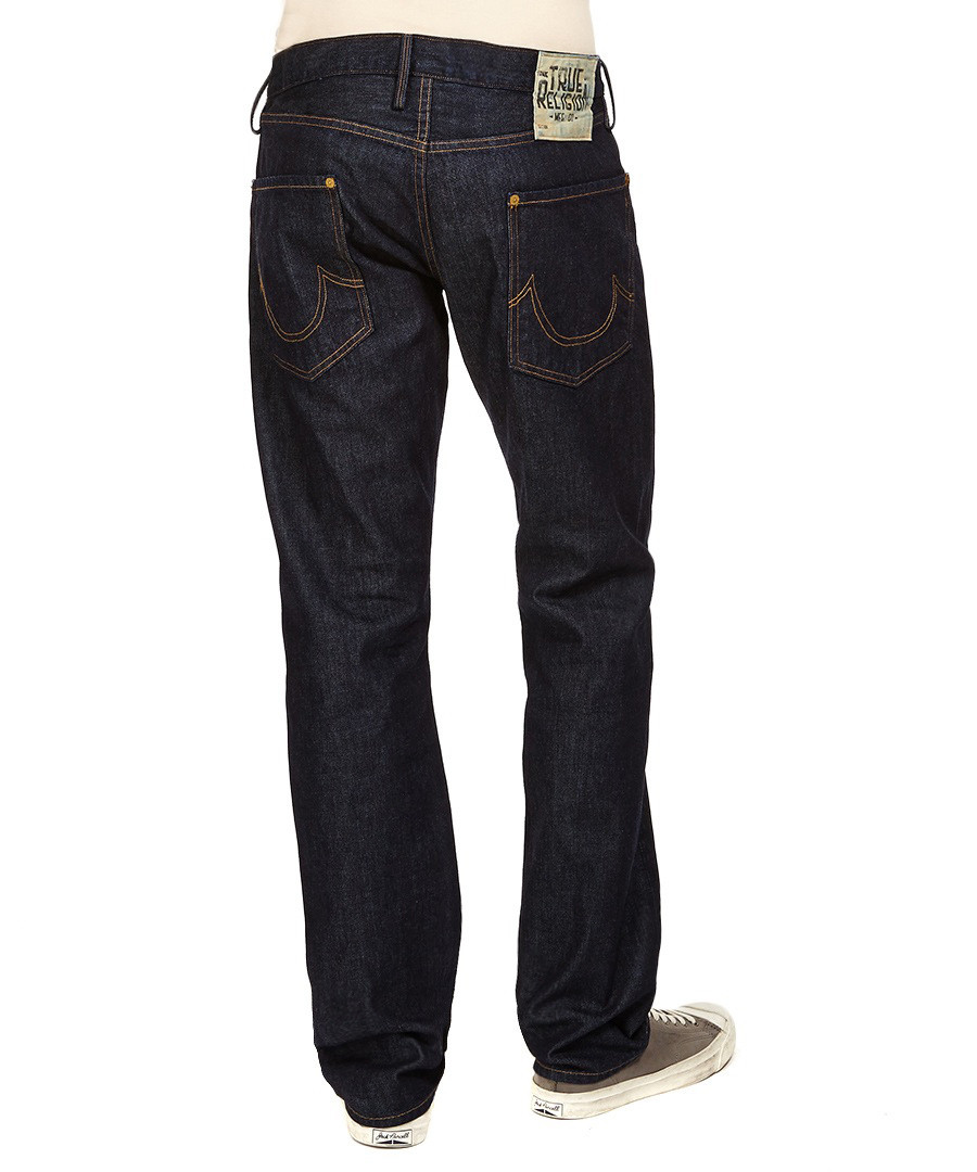true religion geno midnight blue jeans designer trousers. Black Bedroom Furniture Sets. Home Design Ideas