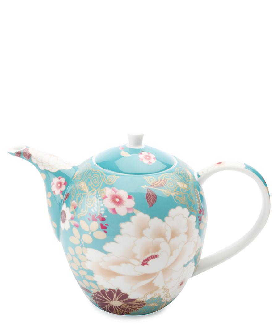 Kimono teal teapot Sale - Maxwell & Williams