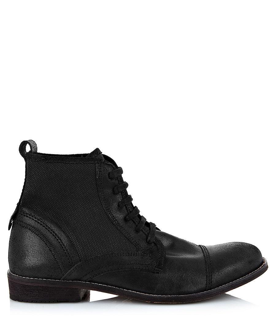 Black Firetrap Baby Shoes