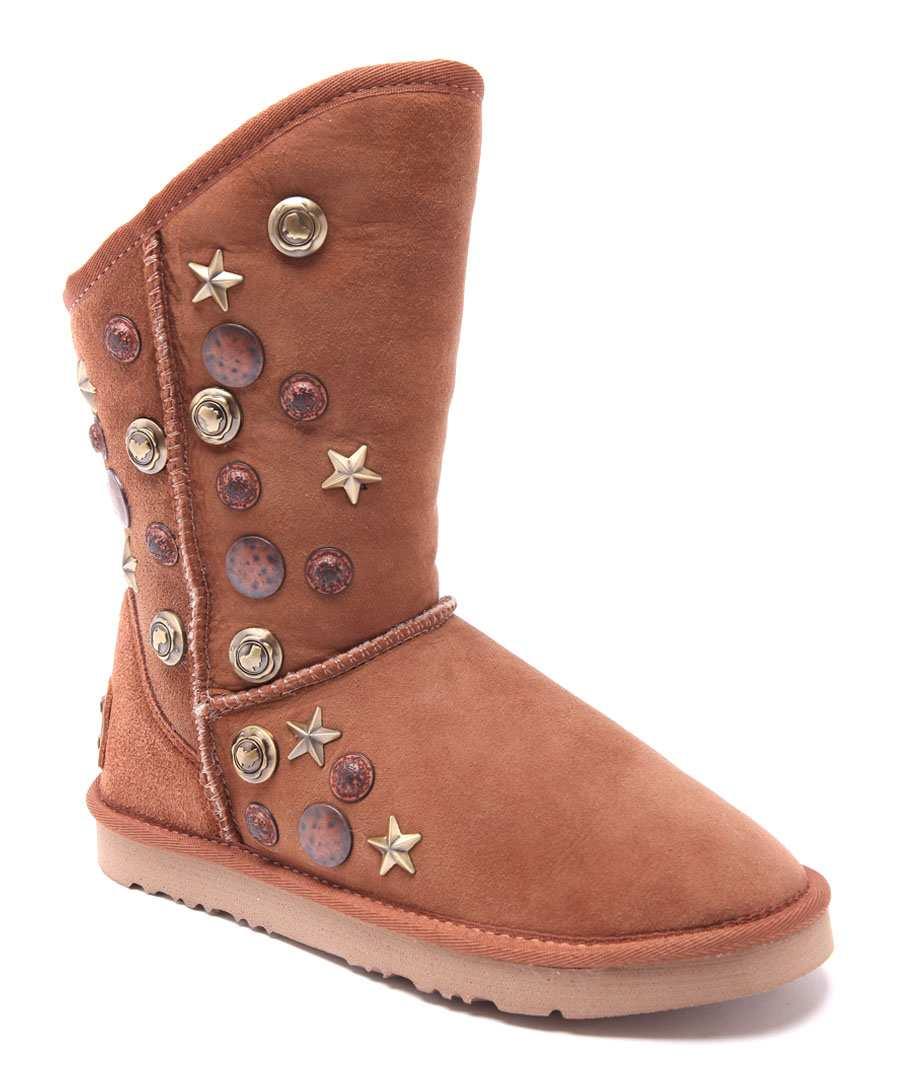 Angel Sho chestnut suede boots Sale - Australia Luxe